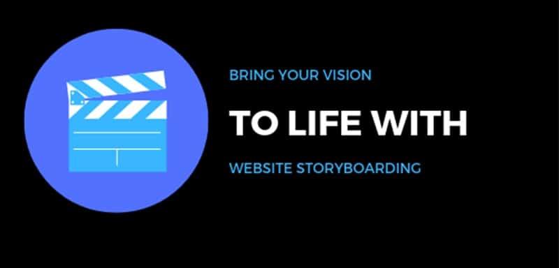 website-storyboarding